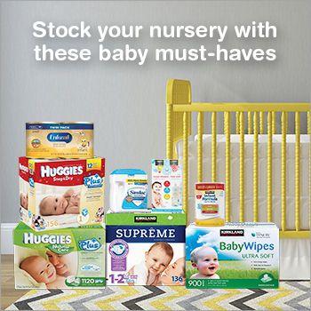Free sample newborn baby essentials