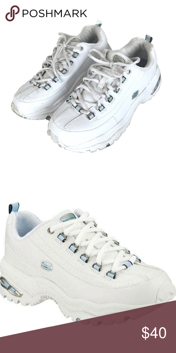 4101b82080 Your fave 90's/early 2000's sneakers ◽️Size 7.5 SH37 Skechers Shoes Sneakers