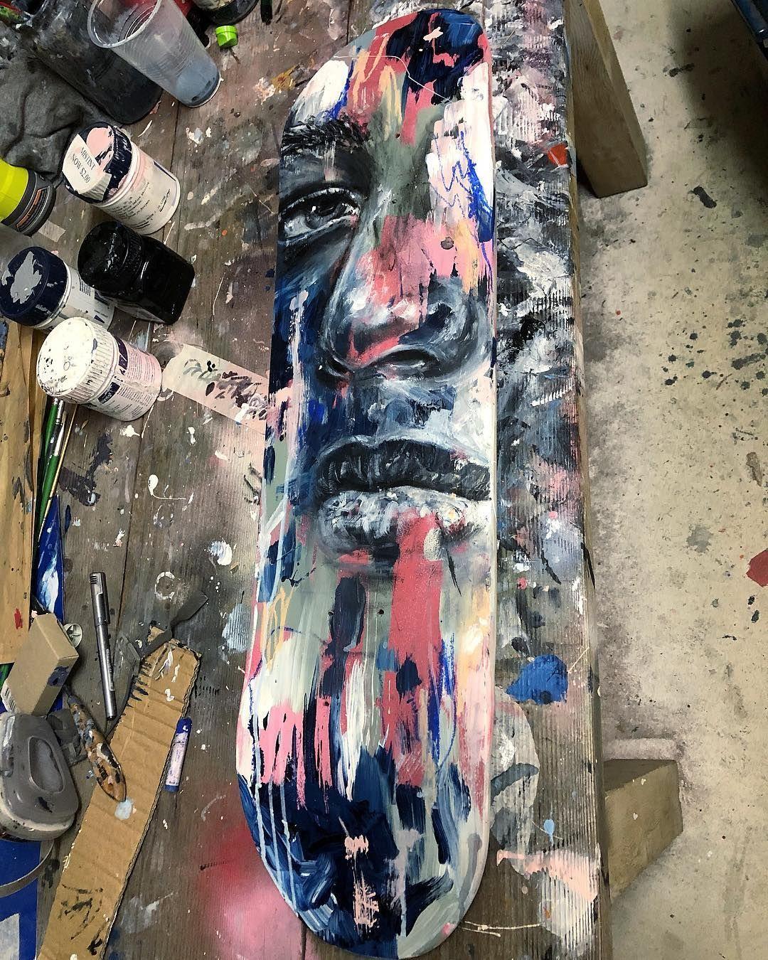 """Dean Sunderland on Instagram: """"Skateboard paints this"""
