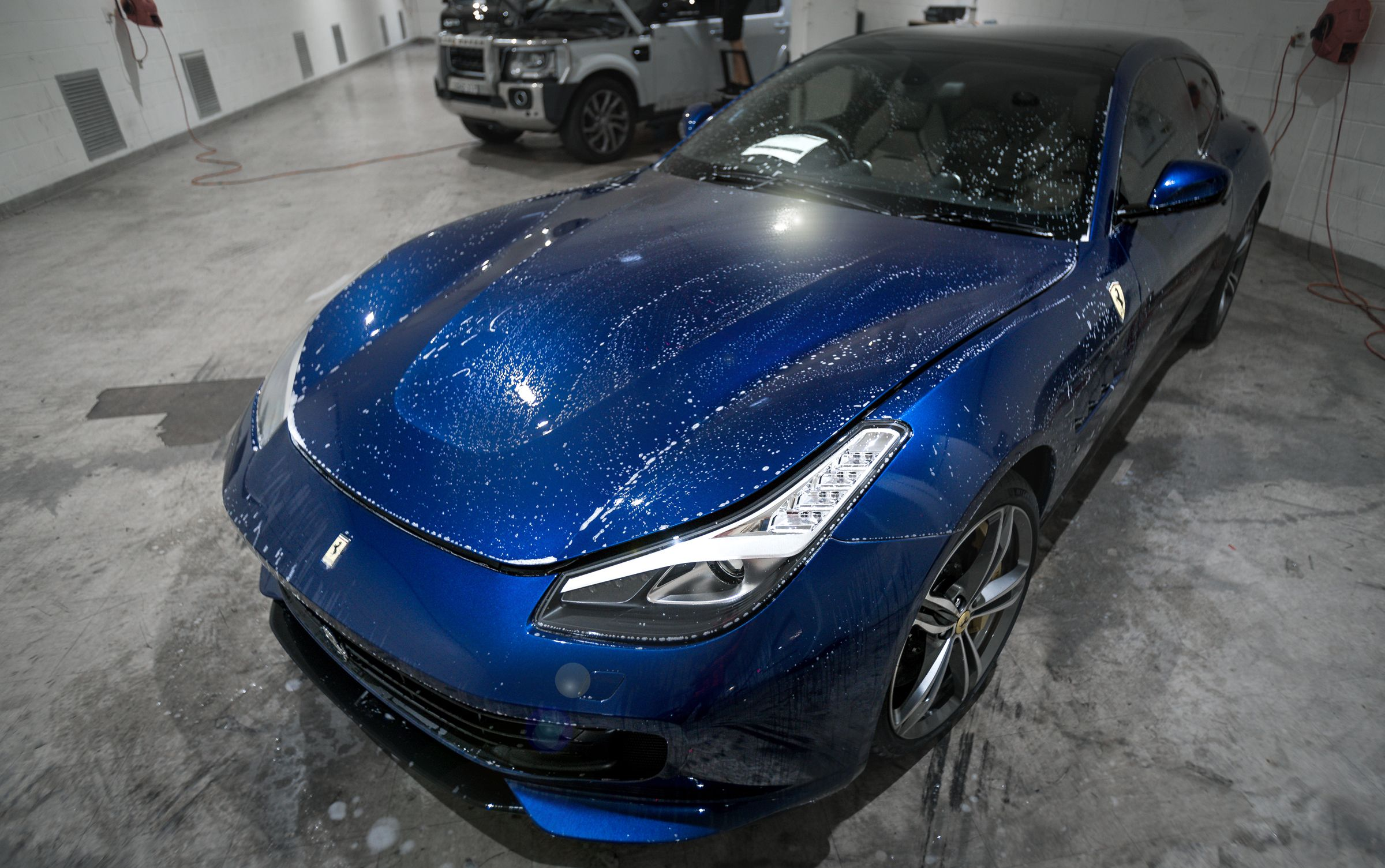 This Metallic Ferrari Ff Came To Us For Vinyl Wrap To Give It A Rare And Unique Look Car Wrap Vinyl Wrap Paint Protection