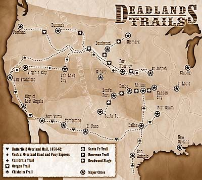 Deadlands California Map.Deadlands Maps The Cbg Wiki American Culture In 2019 West Map