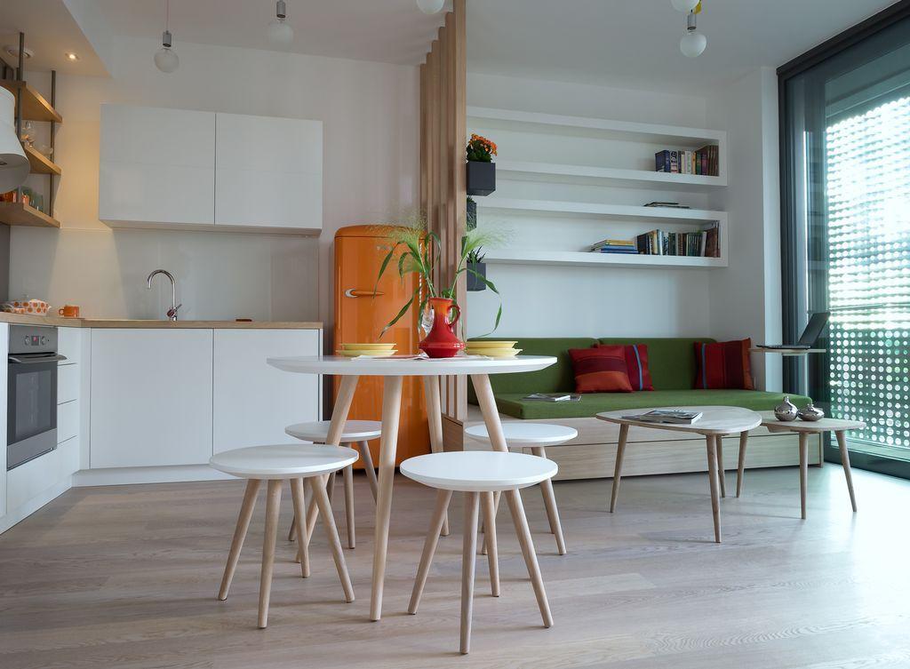 Modern Kitchen With High Ceiling Gorenje Freestanding Amusing Modern Kitchen Nook Design Decoration