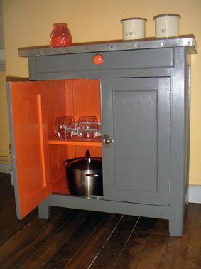 Id es de relooking transformation de meubles avant apr s d caper un meuble m tal - Customiser un meuble de cuisine ...