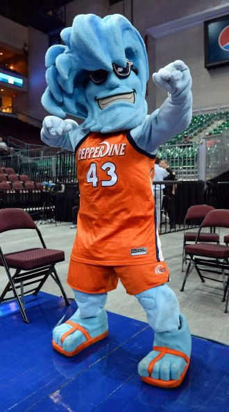 Pepperdine Waves mascot, Willie the Wave