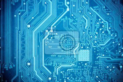 Blue Circuit Board Design - Schematic Wiring Diagram •