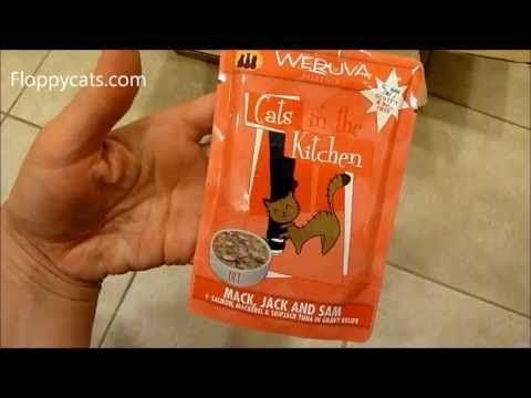 Ragdoll Cats Receive Weruva Cats in the Kitchen from Chewy.com - ねこ - ラグドール - Floppycats http://youtu.be/EyNVySYNho4