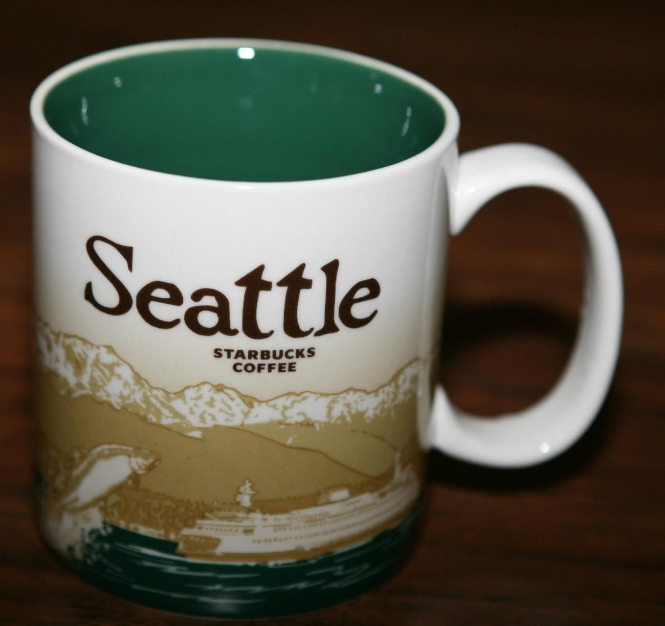 STARBUCKS SEATTLE WASHINGTON COLLECTOR SERIES MUG NEW ...