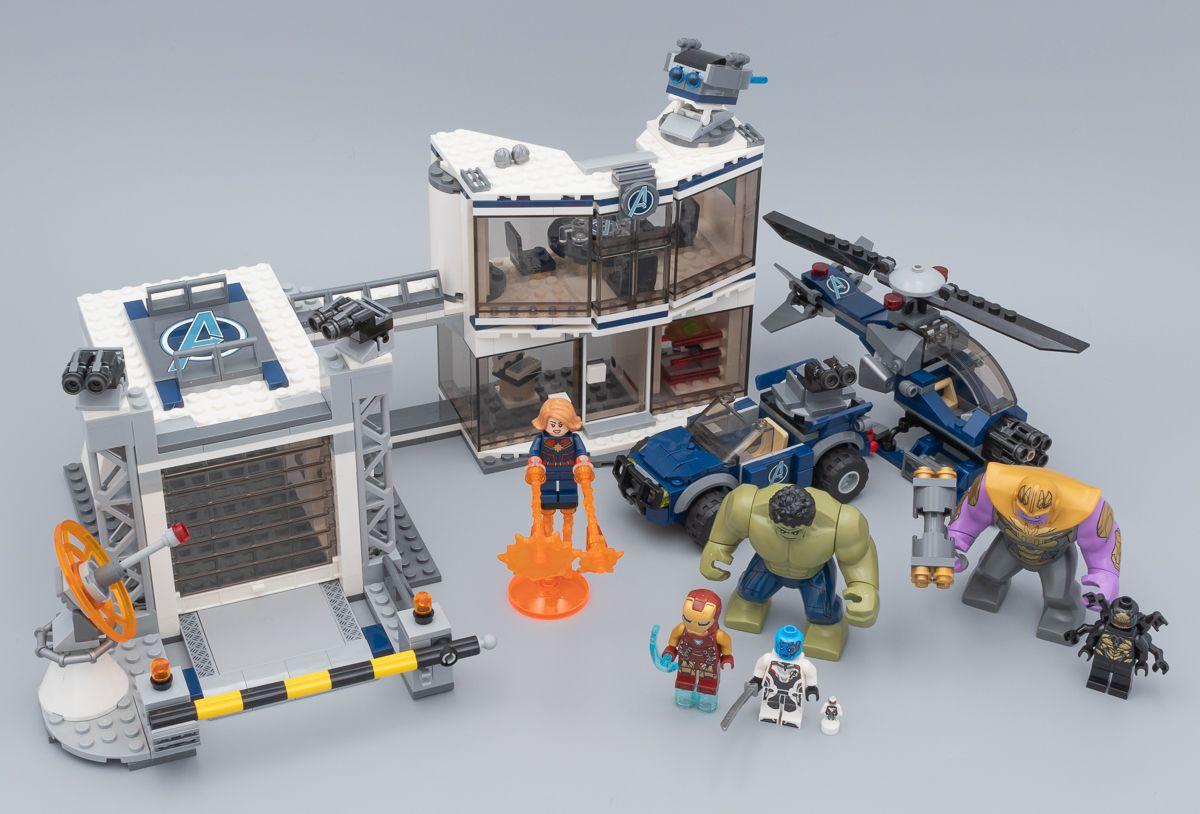 Vite testé : LEGO Marvel 76131 Avengers Compound Battle: On