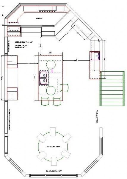 kitchen floor plans | sample kitchen floor plan | Floor Plans ...