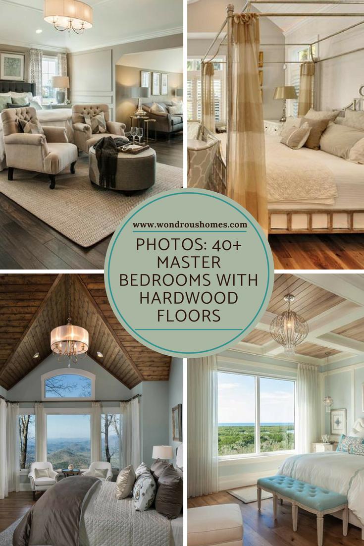 Master bedroom hardwood floors   Master Bedrooms with Hardwood Floors  Loving Home Decor