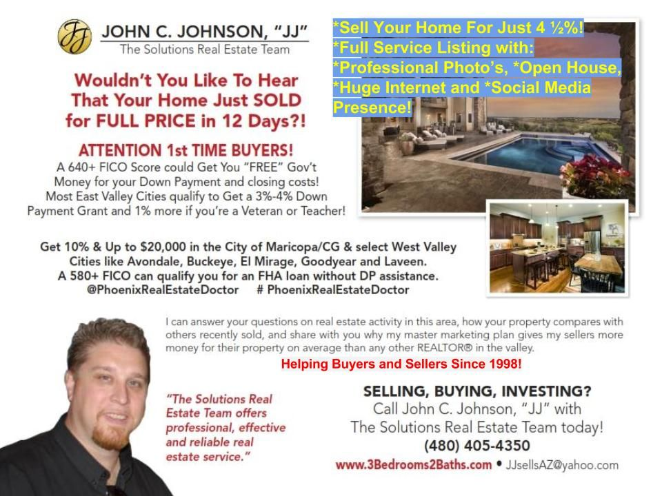 Looking To Sell Your Home In 2016 Pay A Low Commission Call JJ Today ...