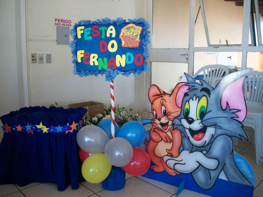 Tom Jerry Birthday Party Ideas Toms Birthday party ideas and