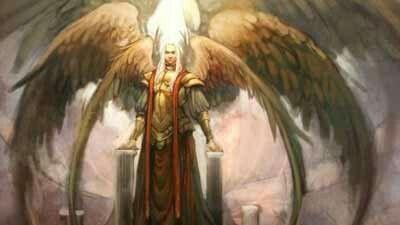 997383c6c Archangel Khamael (Camael;Chamuel) Types Of Angels, Angels And Demons,  Fallen