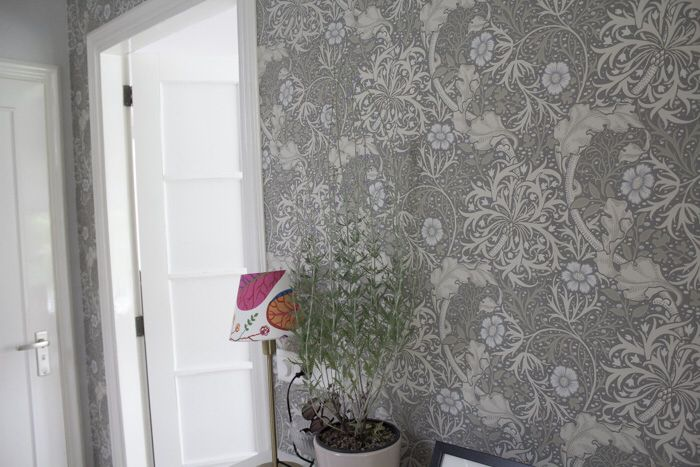 William Morris wallpaper Seaweed Inredning, Tapet