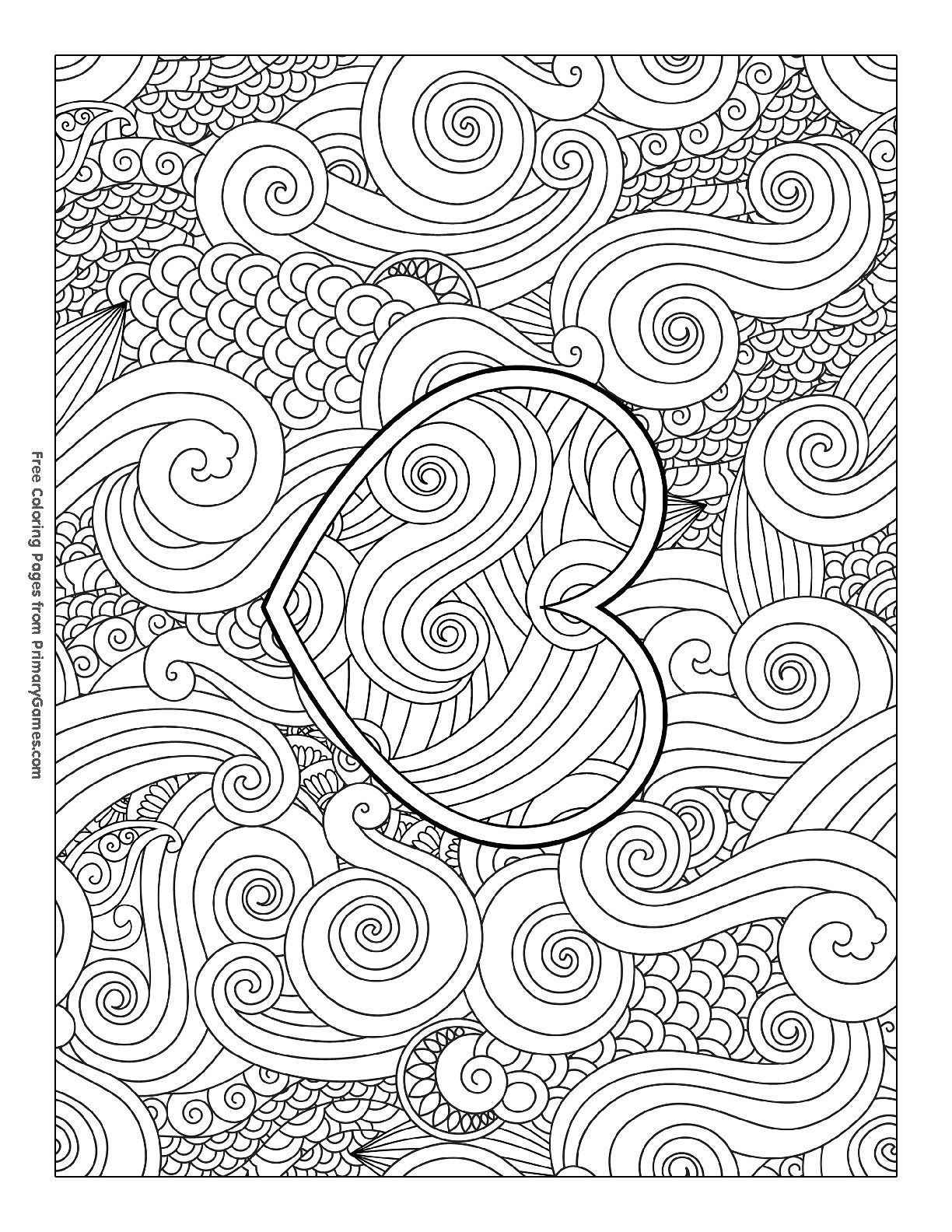 Pin By Raeann Pearce On Coloring Coloring Pages Valentines
