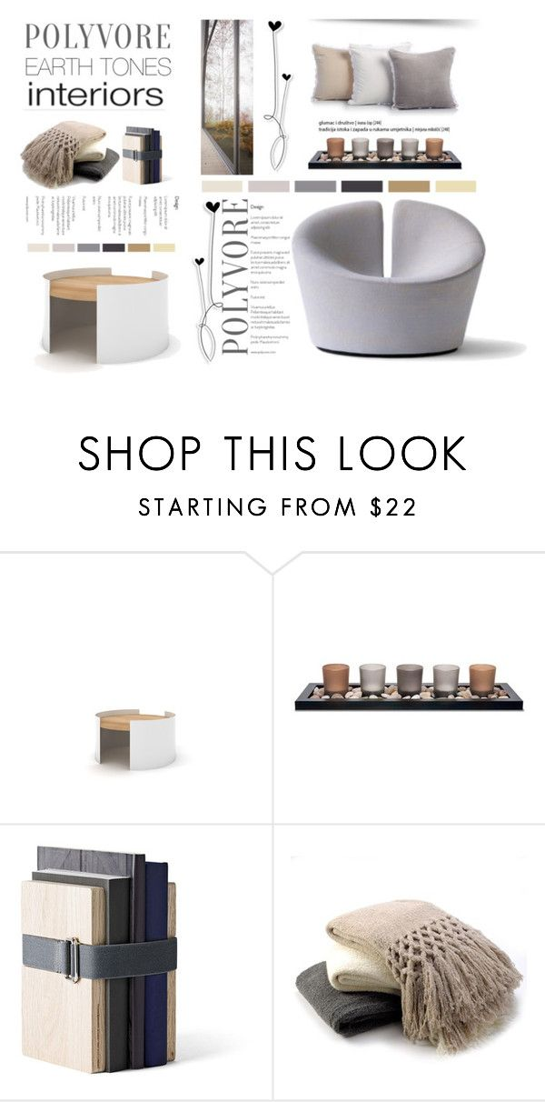 """""""Earth tones interiors."""" by rugile-pp ❤ liked on Polyvore featuring interior, interiors, interior design, home, home decor, interior decorating, Universo Positivo, Menu, Sefte and House & Home"""