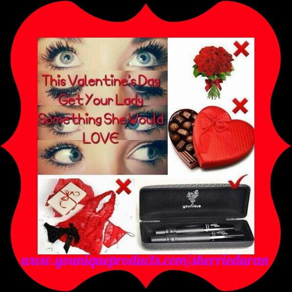Ladies Valentine's day is coming fast !! Tag your husbands ,boyfriends and friends for the perfect Valentine's gift!!! www.youniqueproducts.com/sherrieDuran