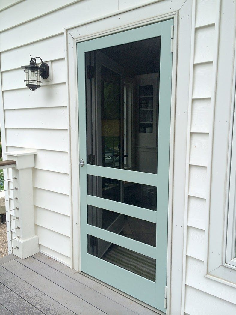 The Sound Of Summer Wooden Screen Door Screen House Wooden Screen