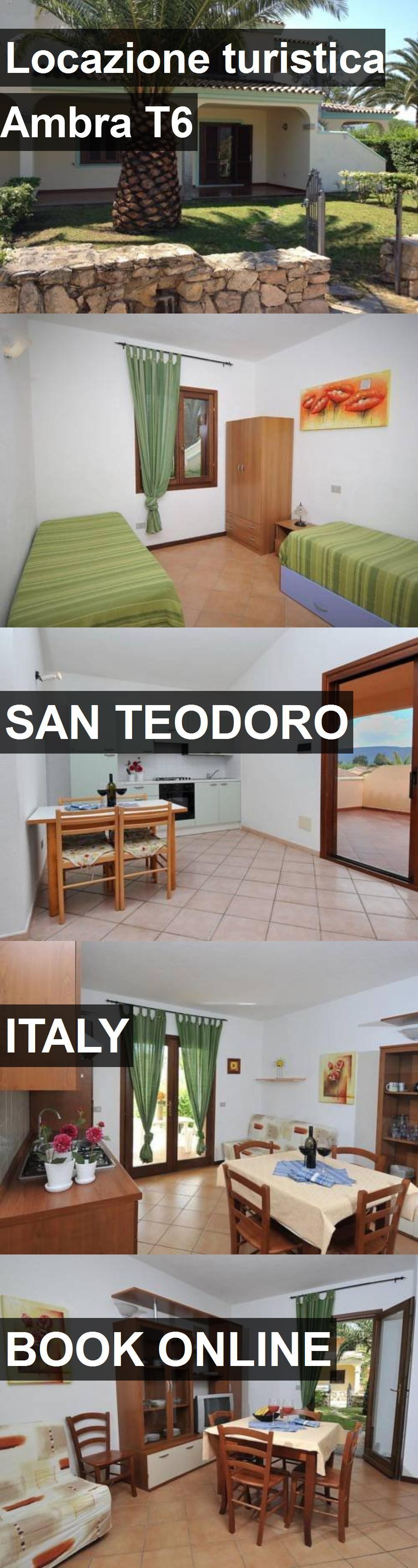 Hotel Locazione turistica Ambra T6 in San Teodoro, Italy