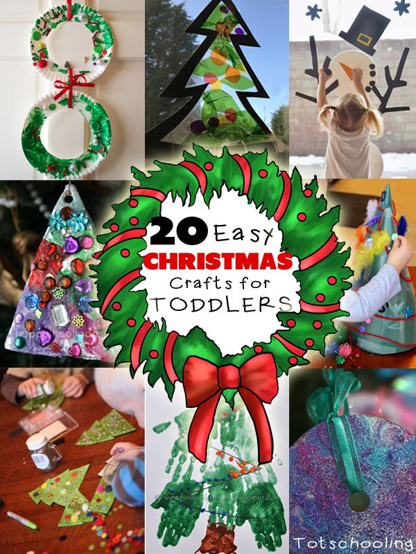 20 easy christmas crafts for toddlers craft easy and activities