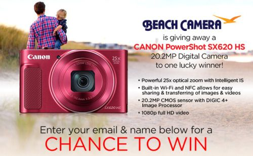 Win a Canon Powershot SX620 Hs from Beach Camera! {US