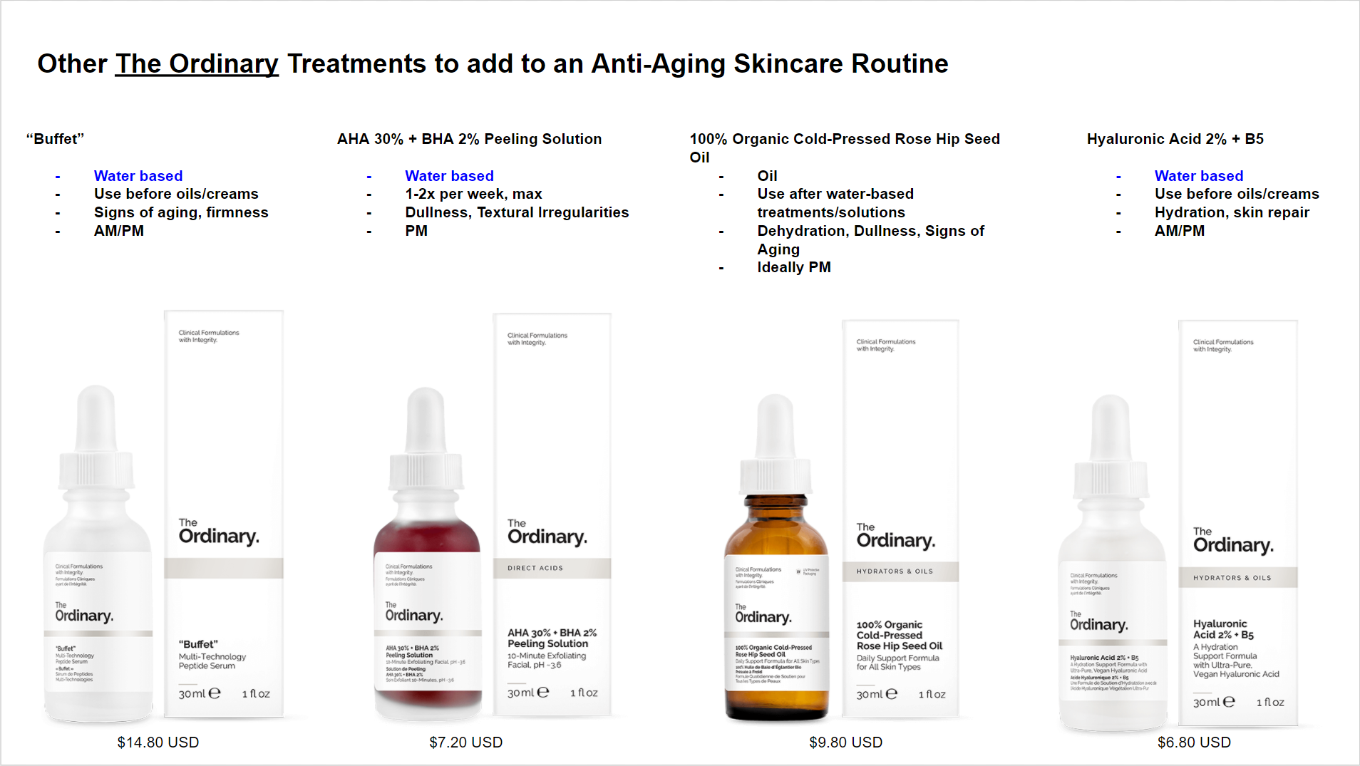 The Ordinary The Complete Anti Aging Regimen Guide Anti Aging Skincare Routine Anti Aging Skin Care The Ordinary Anti Aging