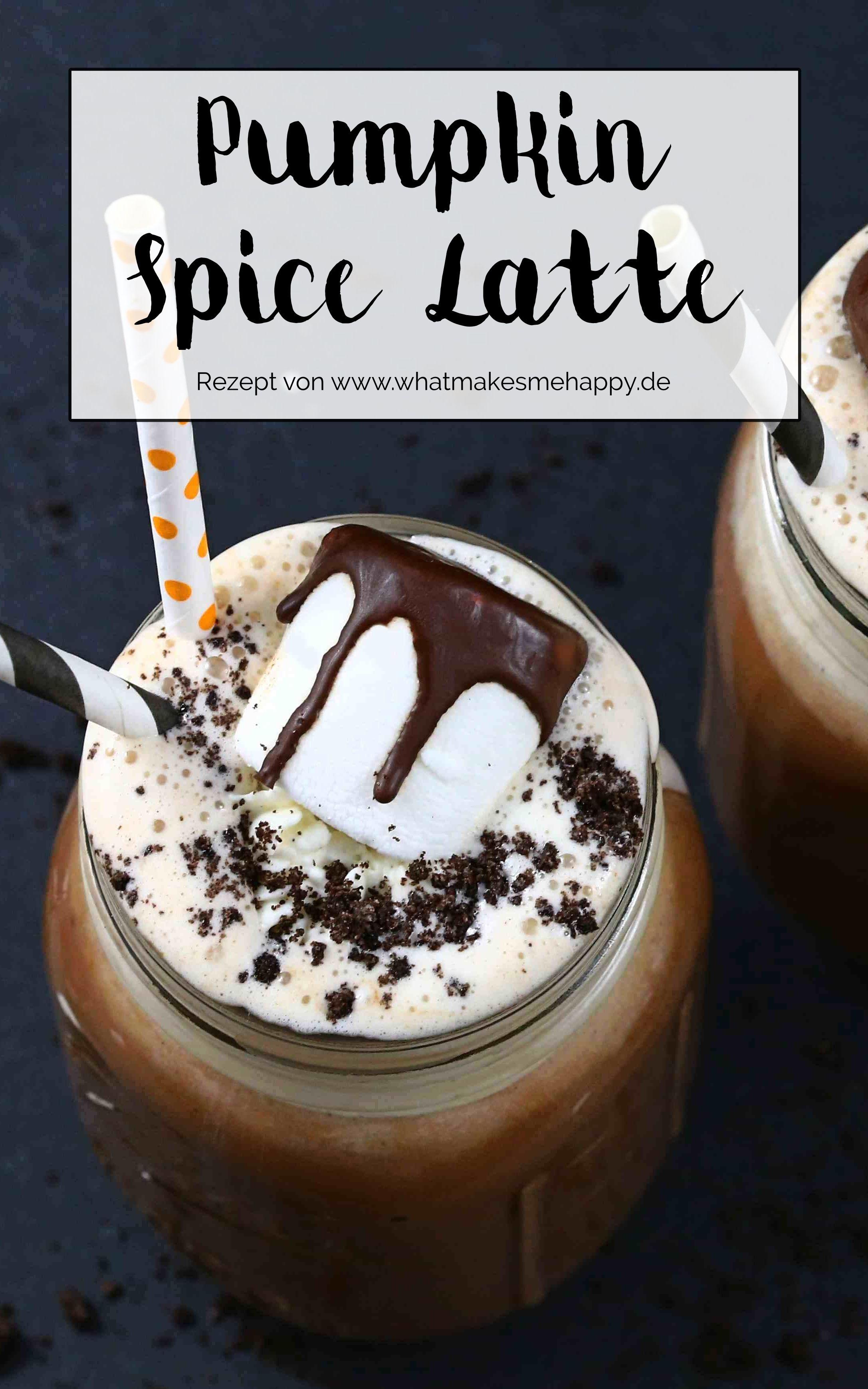Pumpkin Spice Latte / Leckeres für Halloween Lecker