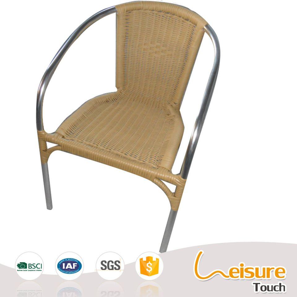 Modern Restaurant Furniture Cheap Wicker Rattan Modern Cafe Chair Outdoor