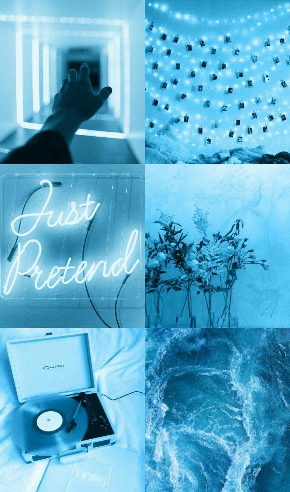 Blue Aesthetic Background