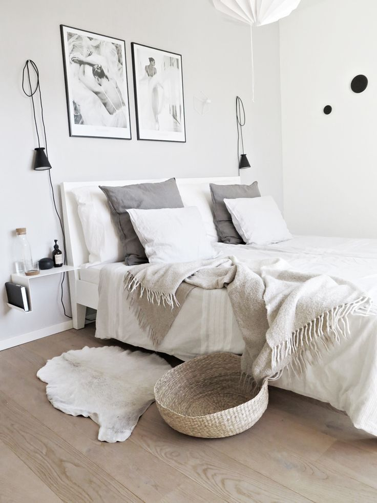 white scandi bedroom scandi interiors pinterest schlafzimmer schlafzimmer ideen und. Black Bedroom Furniture Sets. Home Design Ideas