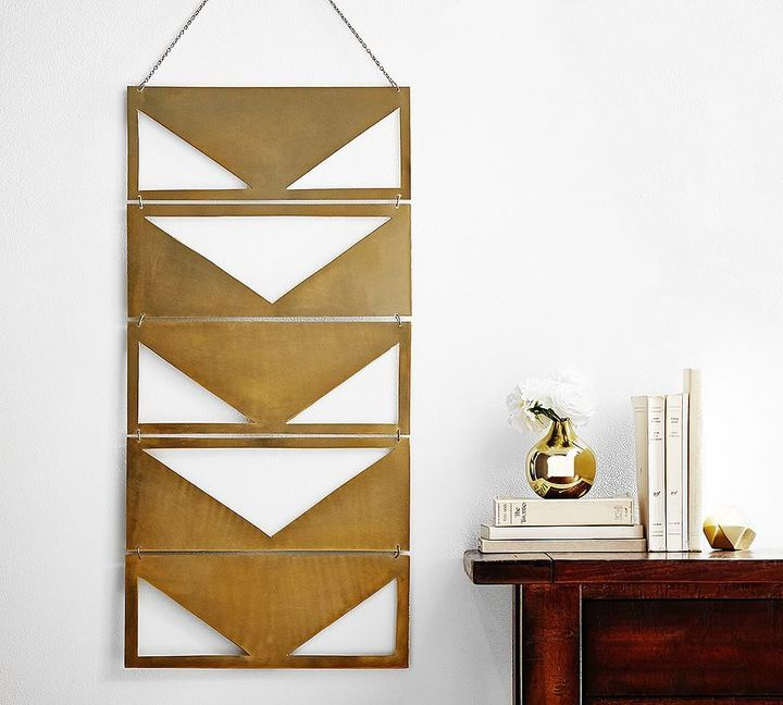 Brass wall hanging unique wall decor pottery barn wall