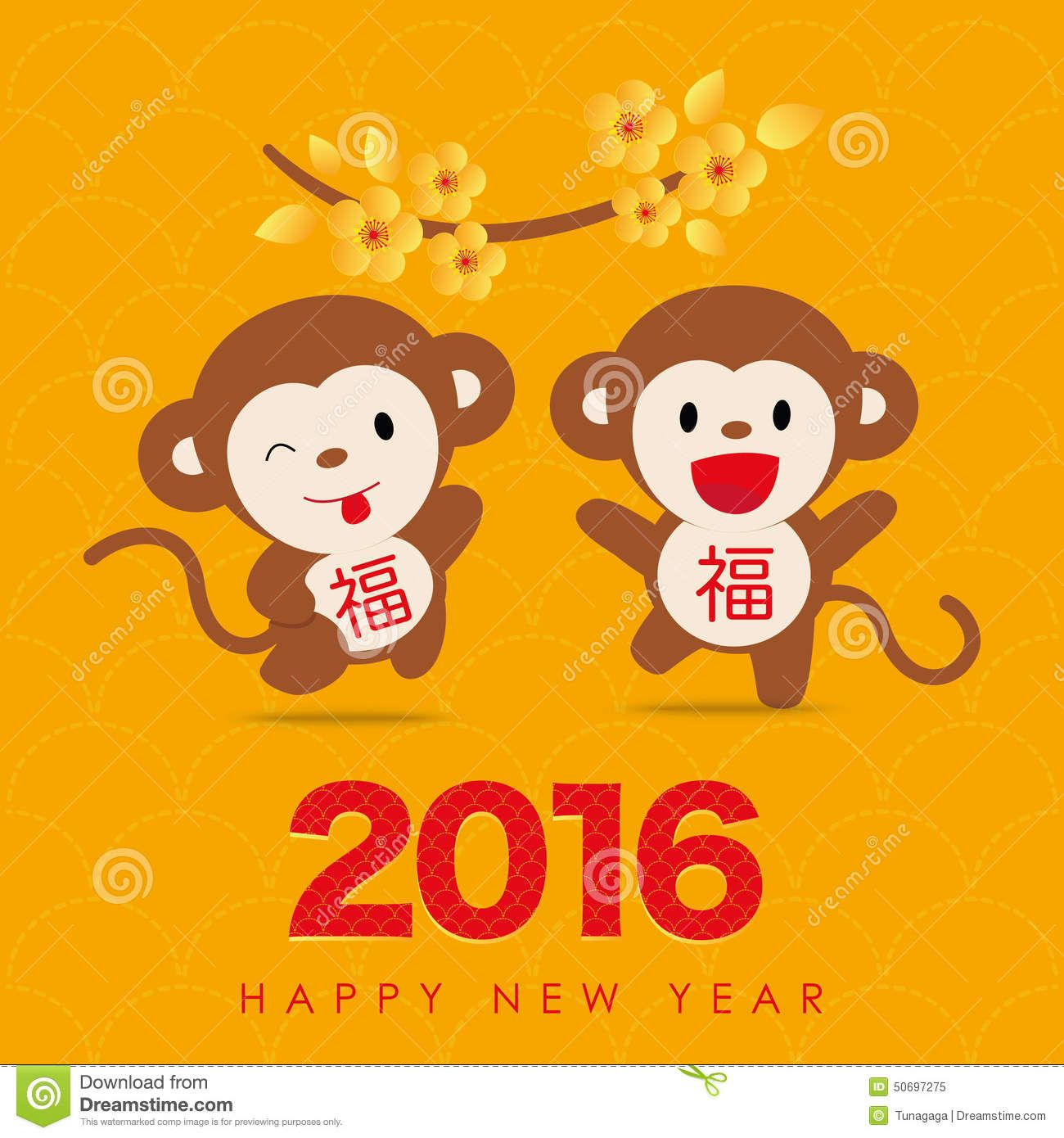 2016 Chinese New Year Greeting Card Design Download From Over 35