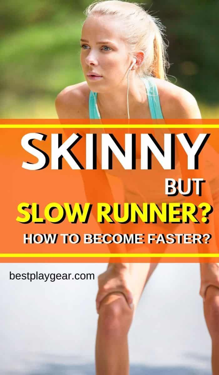 If you are a skinny but slow runner, then it can be a challenge to increase your speed. However, her...