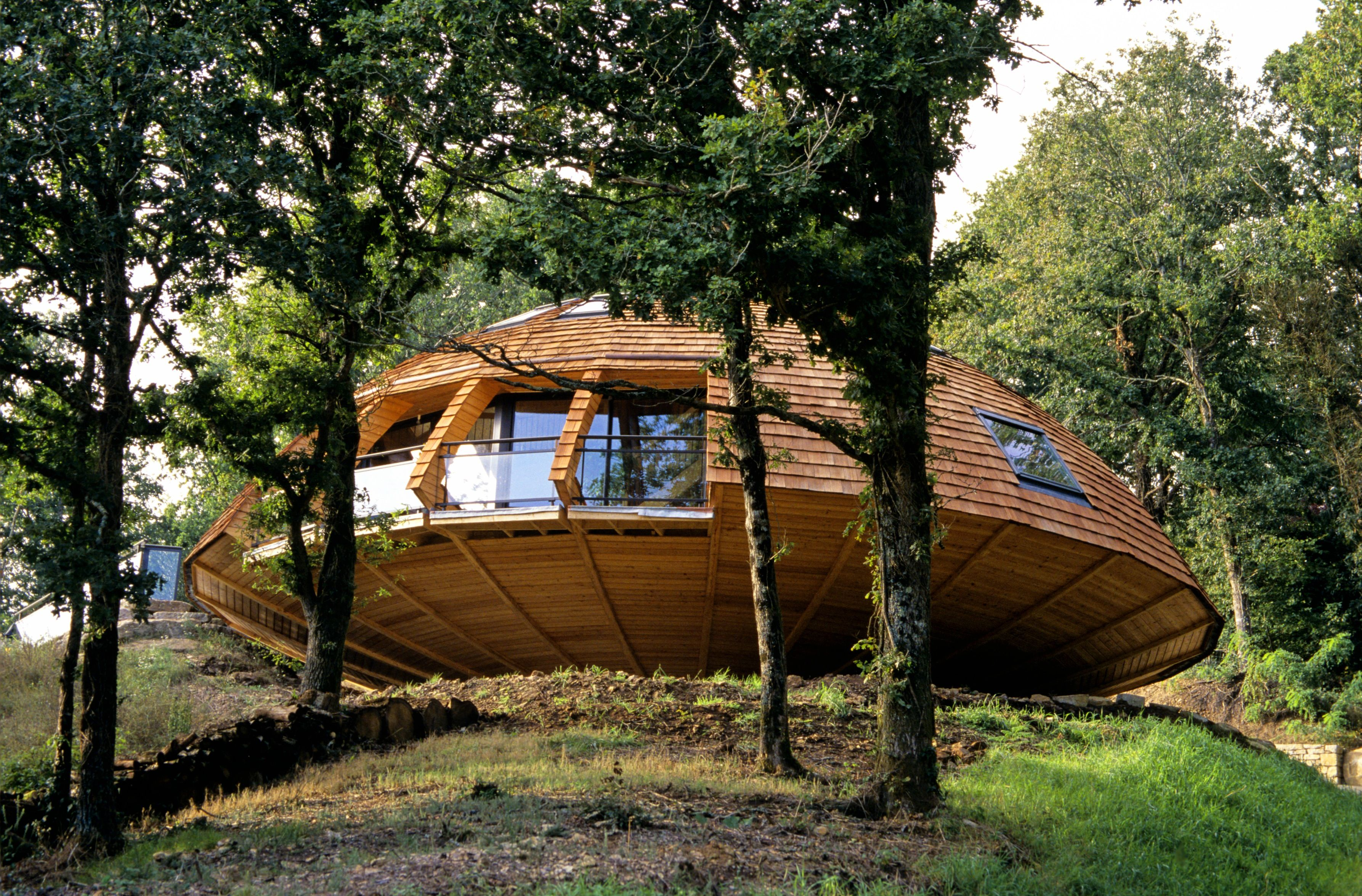 Best Kitchen Gallery: This 'diy' Domed Eco House Will Literally Make Your Head Spin of Eco Friendly Dome Home on rachelxblog.com