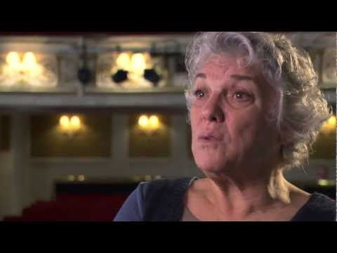 MASTER CLASS: Tyne Daly talks about her role and the play at the Vaudeville Theatre.