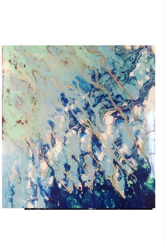 Pintura de la resina resina pinturas pintura abstracta | Abstractos ...