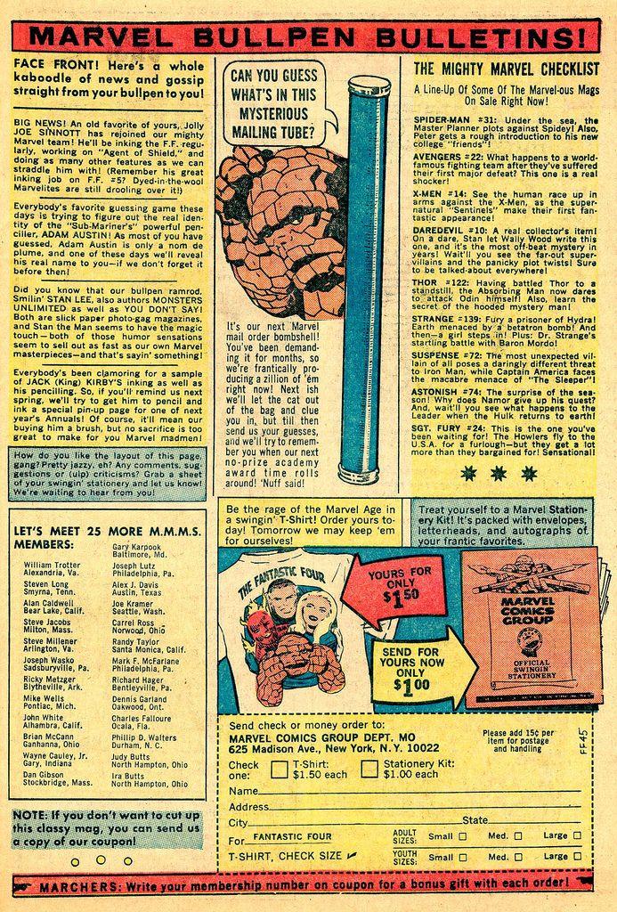 The Origin of Marvel Bullpen Bulletins | Marvel, Bullpen, Comic book covers