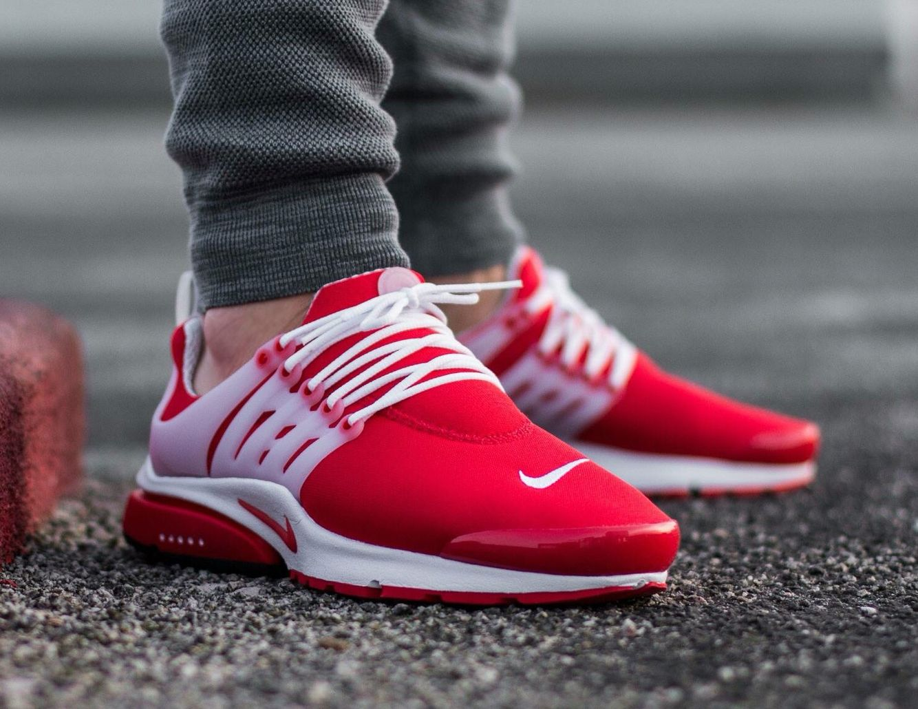 Nike Air Presto Red My Style In 2019 Sneakers Nike Nike Shoes