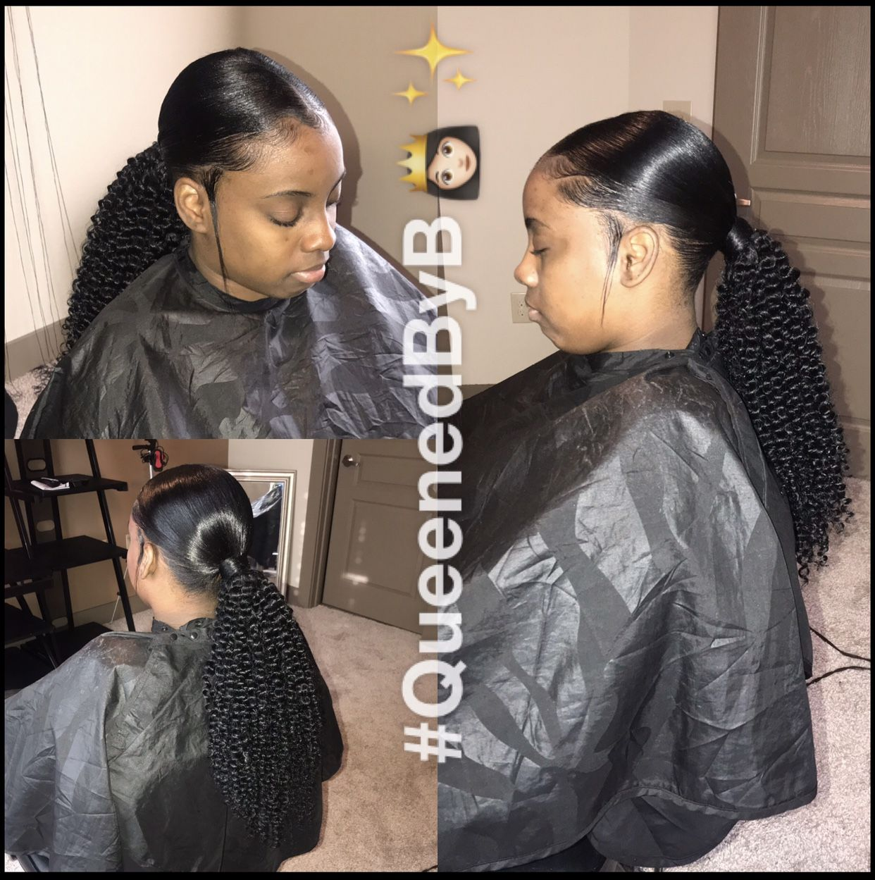 41++ Sleek ponytail with edges trends