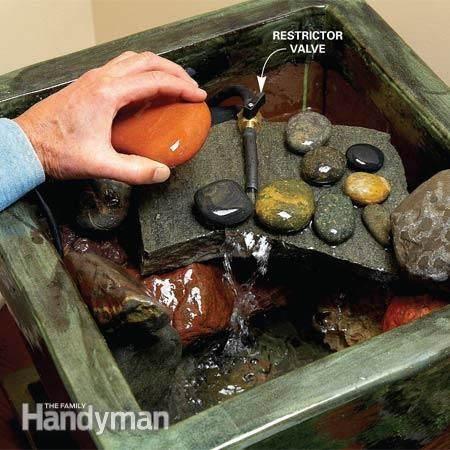 Build An Indoor Water Fountain Nice Look