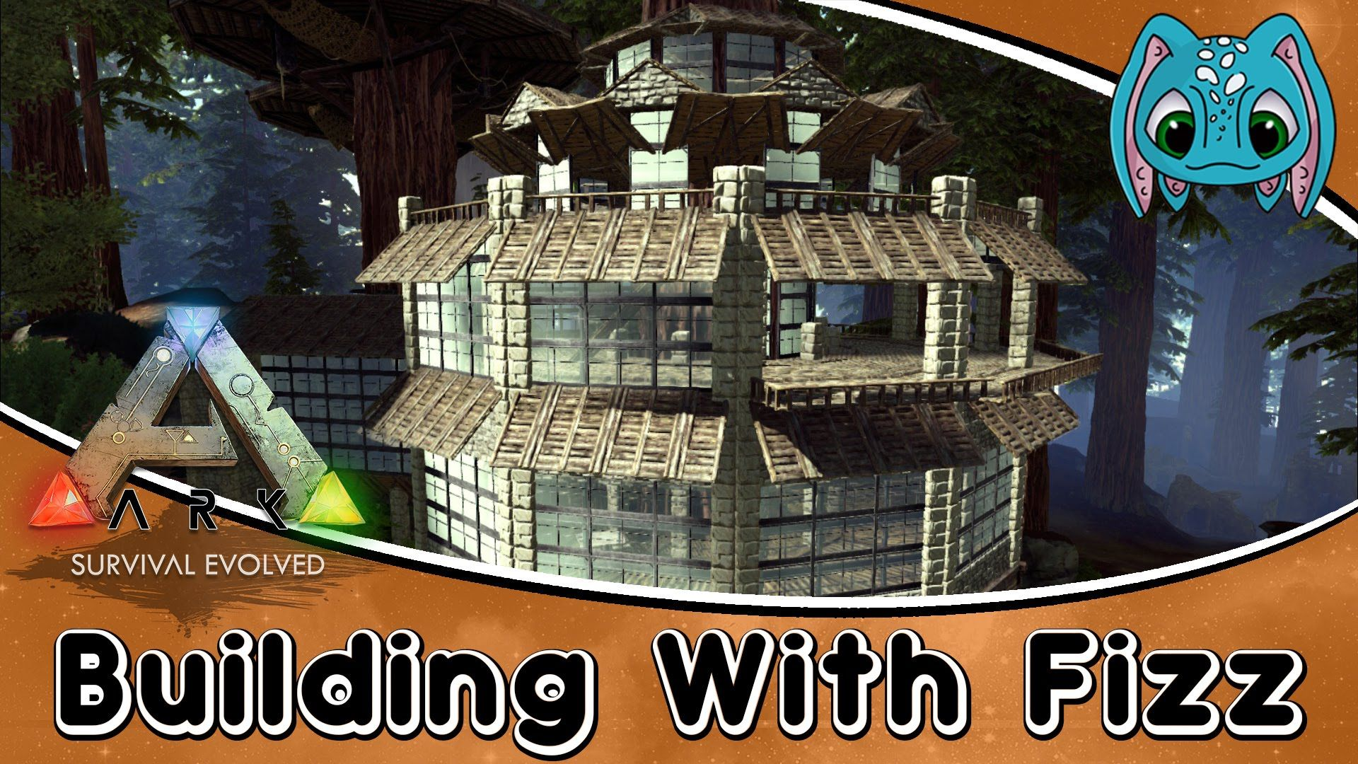 Ark Survival Evolved Building W Fizz Tree House Mansion Build