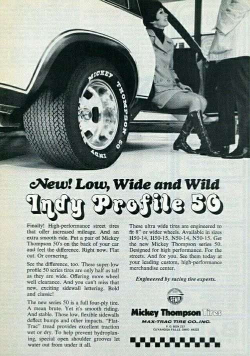 Mickey Thompson Knew How To Advertise Awesome