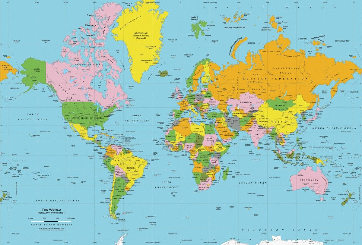 World Map: How Geology Shapes The Map Of The World | BAAN ...
