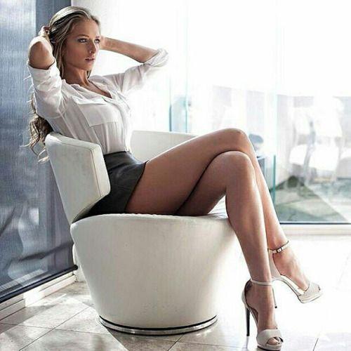 secretary sexy Hot leg