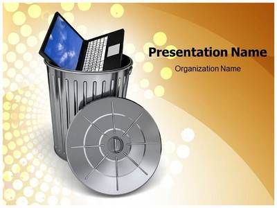 Ewaste Powerpoint Template Is One Of The Best Powerpoint Templates