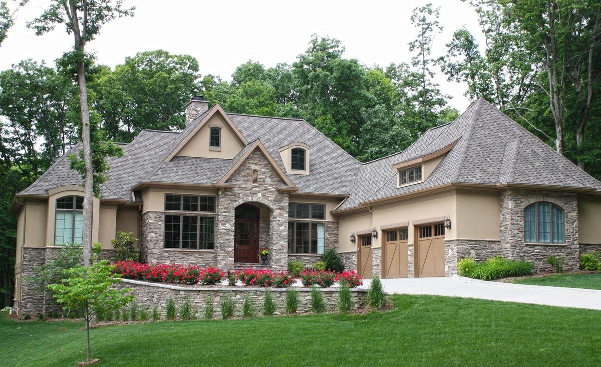 Luxury walkout basement house plans