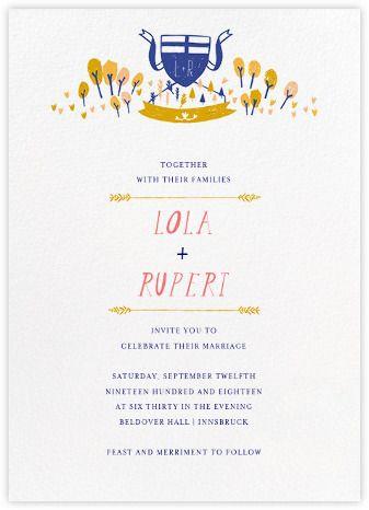 Miss Porter (Invitation) - Paperless Post