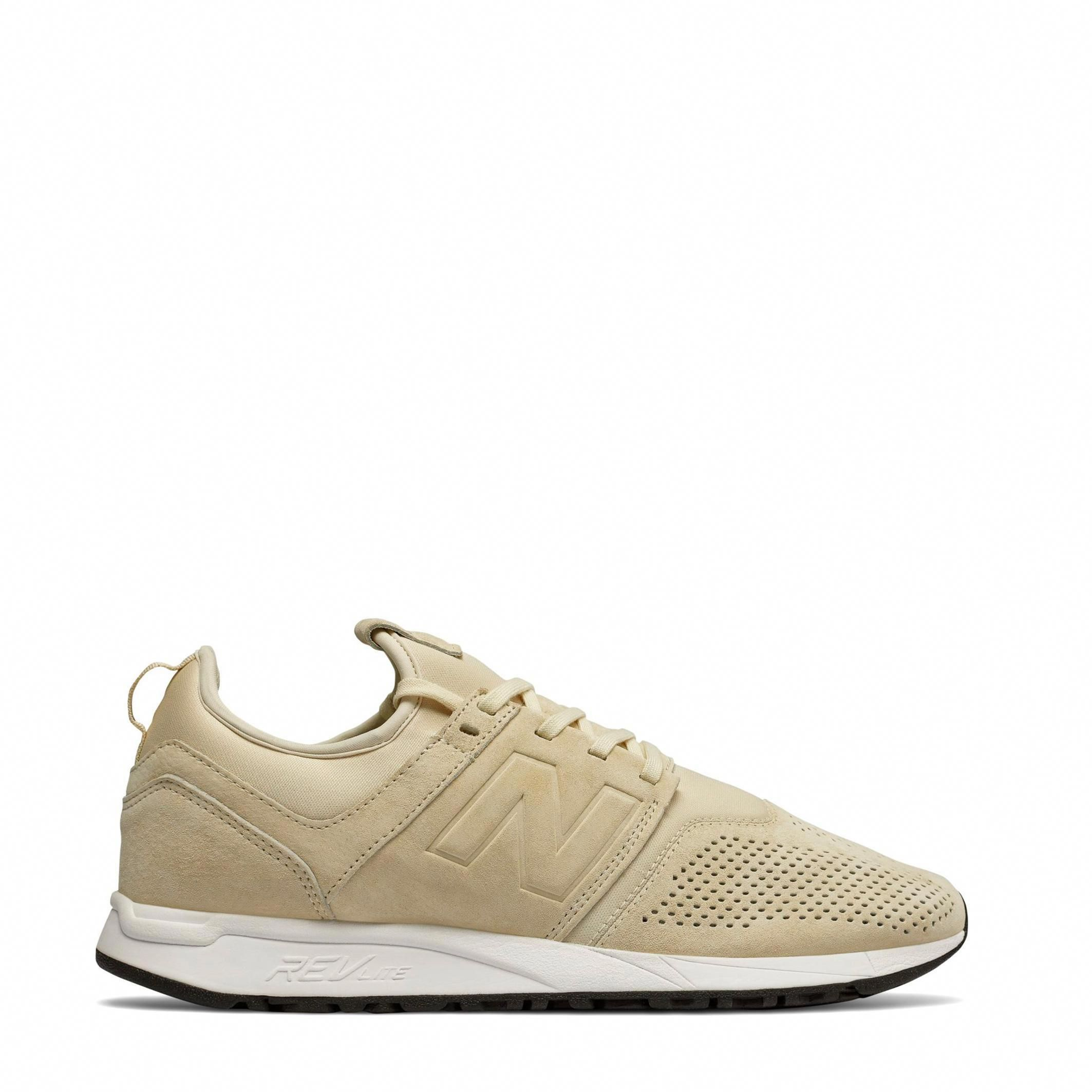 New Balance Mens MRL247 Suede Sneakers Trainers Sport Shoes Brown ...
