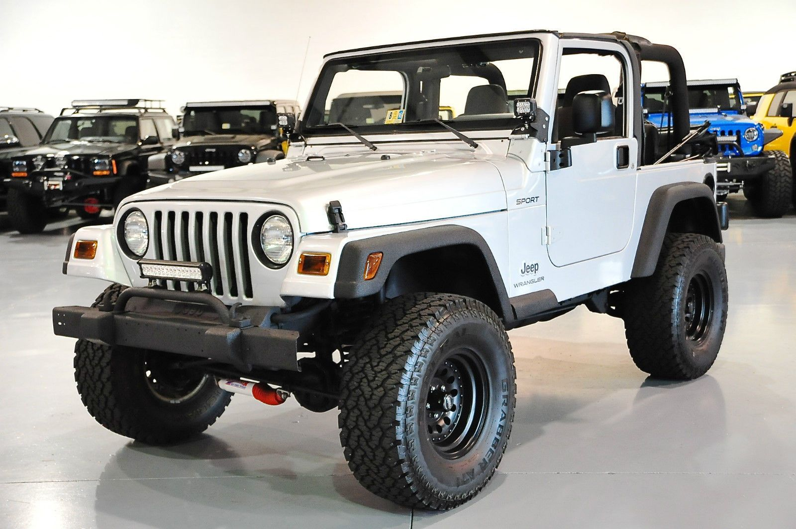 Jeep : Wrangler TJ Sport Lifted, Modified & Carfax Certified ...