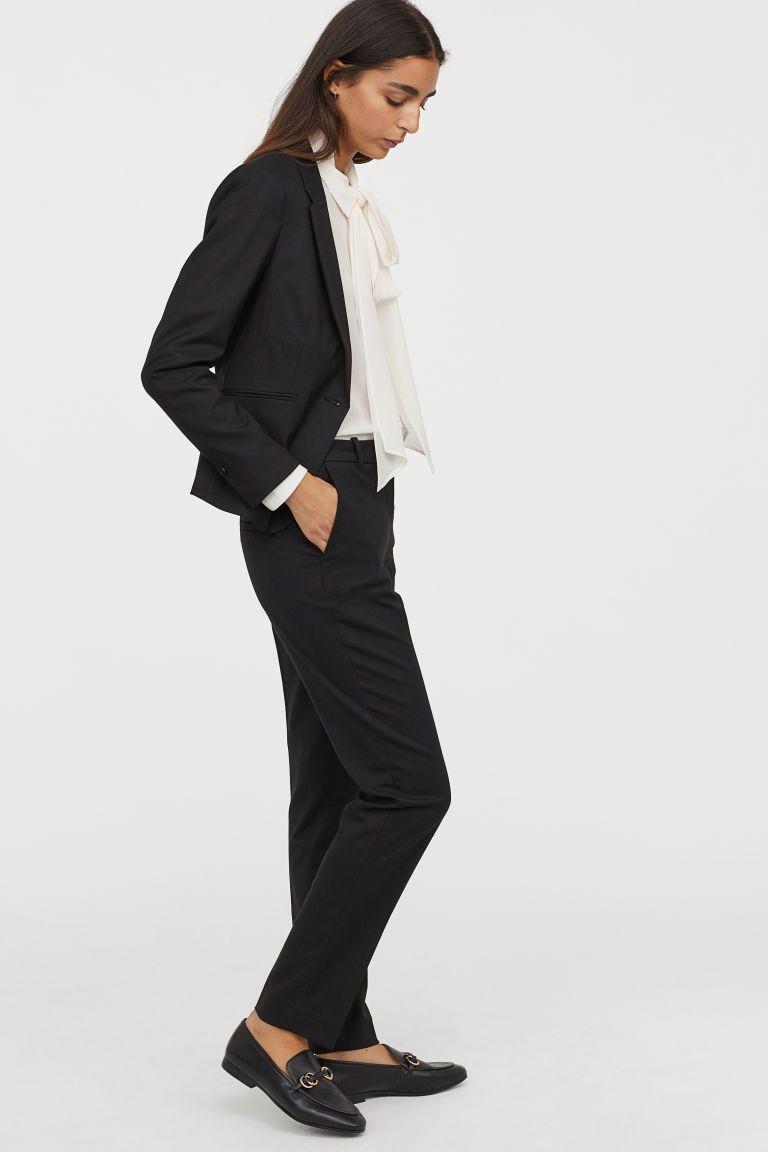 40999d5f81 Öltönynadrág in 2019 | H&M | Trouser suits, Black slacks, Black pants
